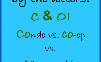 Condos, Co-ops and Co-Ownership – Three choices for condo living